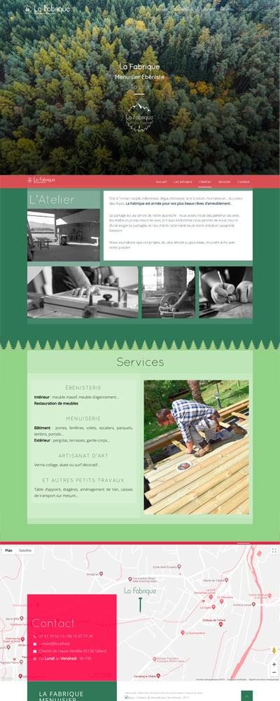 site web artisan